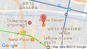 Fraser Suites Sukhumvit location map