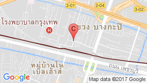 แผนที่สถานที่ ไอ-เฮาส์ ลากูน่า การ์เด้น