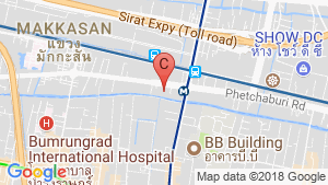 Villa Asoke location map