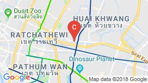 แผนที่สถานที่ Knightsbridge Space Rama 9