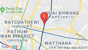 แผนที่สถานที่ ซี.พี. ทาวเวอร์ 2 (ฟอร์จูนทาวน์)