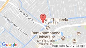 3 Bedroom Townhouse for rent in Baan Klang Muang Rama 9-Ramkhamhaeng, Phlapphla, Bangkok location map