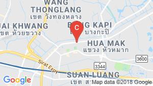 แผนที่สถานที่ Supalai Veranda Ramkhamhaeng