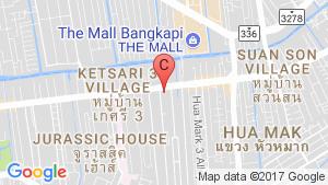 KnightsBridge Collage Ramkhamhaeng location map