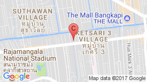 Chewathai Ramkhamhaeng location map