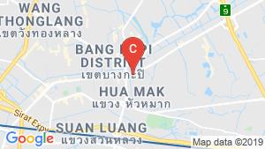 แผนที่สถานที่ แบงค์คอก ฮอไรซอน รามคำแหง