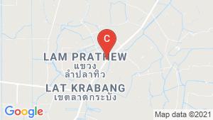 SENA Kith Chalong Krung Lat Krabang location map