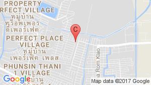 แผนที่สถานที่ บ้านปรีชา ราม 3 – ถนนราษฎร์พัฒนา