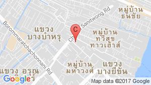 Bangkok River Park location map