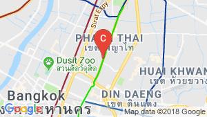 Office for rent in Bangkok near BTS Ari location map