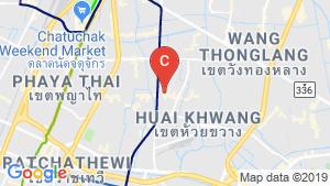 Amaranta Residence location map