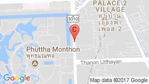 แผนที่สถานที่ ไอ คอนโด ศาลายา