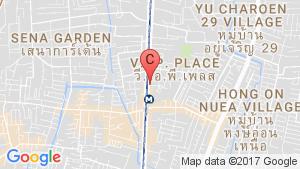 Centric Ratchada - Huai Khwang location map