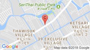 แผนที่สถานที่ Emblazon - เสรีไทย 43(Emblazon - seri thai 43)