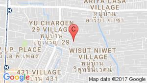 2 Bedroom Condo for sale in Happy Condo Ratchada 18, Sam Sen Nok, Bangkok location map