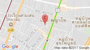 แผนที่สถานที่ เซ็นทริค เพลส อารีย์ 4-พหลโยธิน