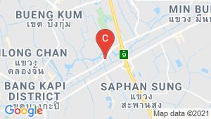 Areeya Busaba Ladprao-Serithai location map