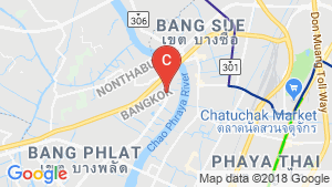 Supalai City Home Ratchada - Pinklao location map