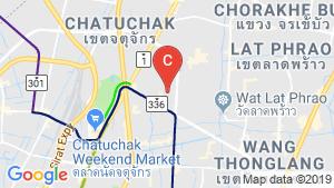 The Origin Ladprao 15 location map
