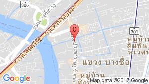 แผนที่สถานที่ แชปเตอร์วัน ชายน์ บางโพ