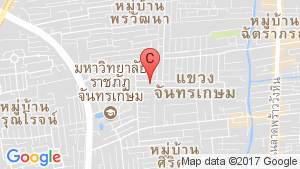 แผนที่สถานที่ บ้าน สวน รัชดา