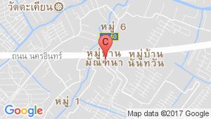 แผนที่สถานที่ บ้านมัณฑนา ปิ่นเกล้า – พระราม 5