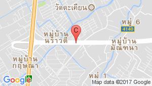 แผนที่สถานที่ พฤกษาทาวน์เน็กซ์ ติวานนท์-พระราม 5