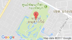 แผนที่สถานที่ ศุภาลัย พาร์ควิลล์ รามอินทรา 23