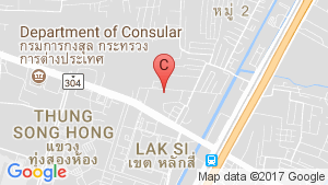 The Cube Plus Chaengwattana location map
