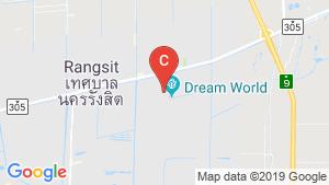Baan Suetrong Rangsit khlong 3 location map