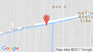 PASSORN PRESTIGE RANGSIT – KLONG 2 location map