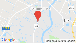 The Connect Krungthep-Pathumthani location map