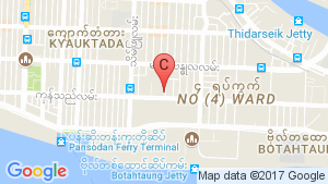 Star City Thanlyin location map