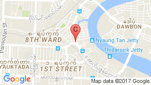 MYA KHWAR NYO APARTMENT location map