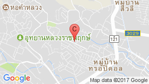 1 Bedroom Condo for sale in Rajapruek Greenery Hill, Mae Hia, Chiang Mai location map