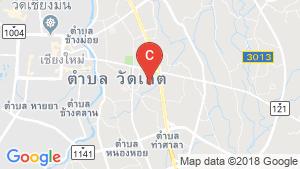 แผนที่สถานที่ PP Condo Chiang Mai
