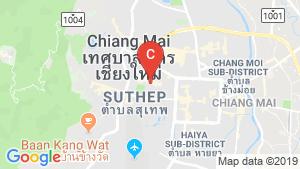 103 Condominium Chiangmai location map