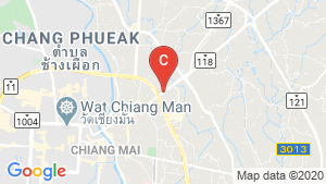 Escent Park Ville Chiangmai location map