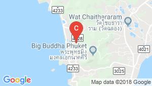 Phuket Encore The Residence location map