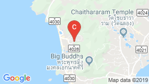 Melia Phuket Karon Residences location map