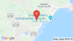 The Oasis Samui location map