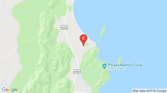 White Beach Villas location map