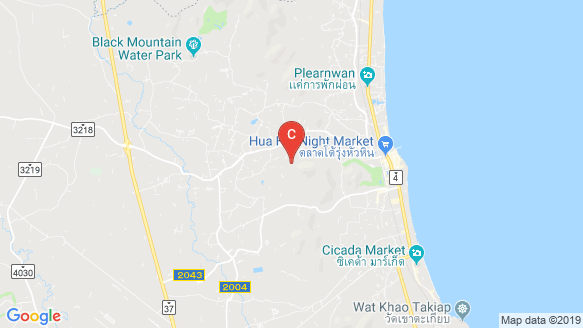 Hua Hin Grand Hills location map