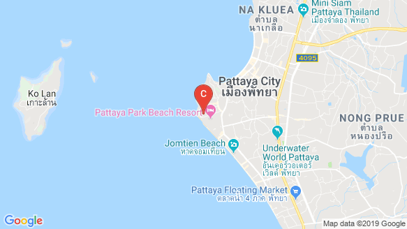 The Panora Pattaya location map