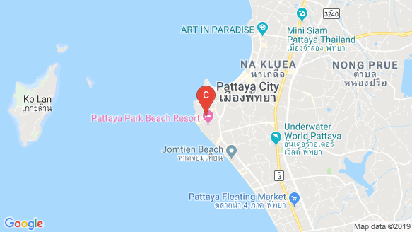 Ramada Pattaya Mountain Bay location map