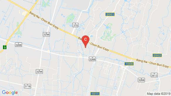 The Connect Bangna-Suvarnabhumi location map