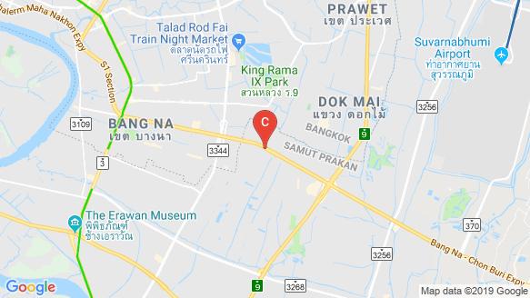 Niche MONO Mega Space Bangna location map