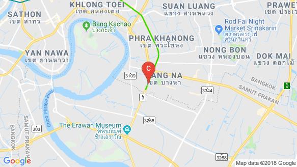 Ideo Mobi Sukhumvit Eastpoint location map