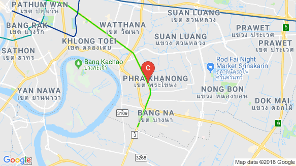 Quinn Sukhumvit 101 location map