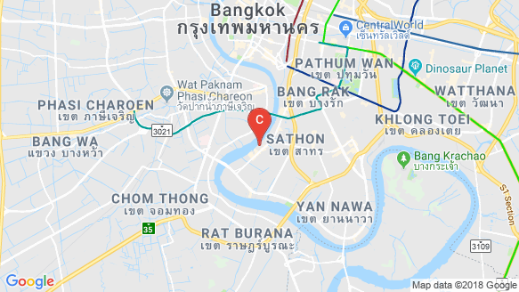 Menam Residences location map